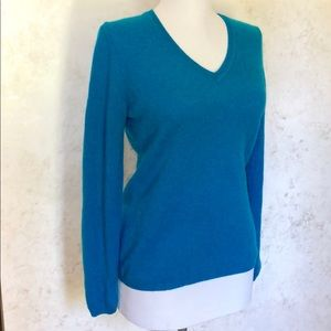 Charter Club Sweaters - Charter Club Turquoise Blue Cashmere Sweater